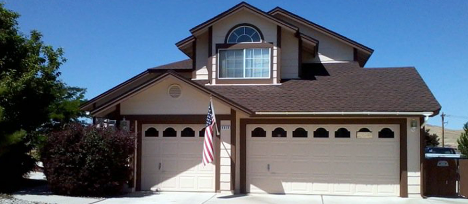 Exterior paint by Fasani Painting. Call for a free estimate. 775-323-4483